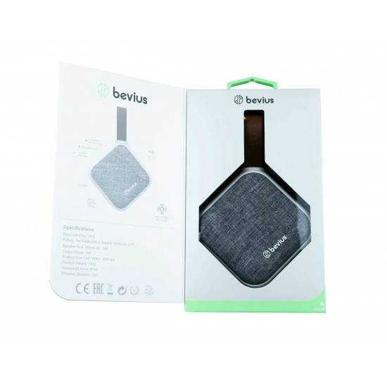 Bevius - Taşınabilir Yüksek Kalite Bluetooth Hoparlör