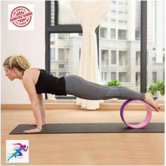 Cosfer CSF108SY Pilates ve Yoga Wheel Balance Pilates Yoga Tekerleği